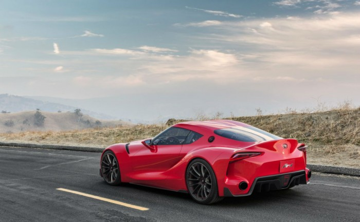 Toyota FT 1 Concept Rear Angle Close carwitter 700x432 - Toyota FT-1 Concept - Toyota FT-1 Concept