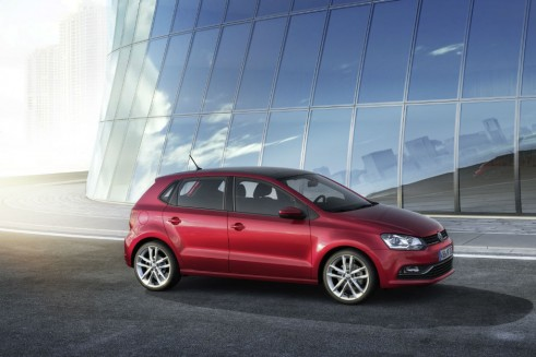 VW Polo 2014 side carwitter 491x327 - 2014 Volkswagen Polo revealed - 2014 Volkswagen Polo revealed