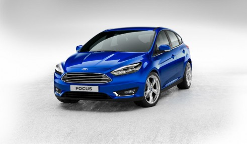 2014 Ford Focus front - carwitter
