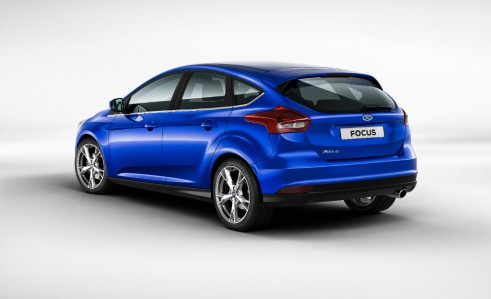 2014 Ford Focus rear - carwitter