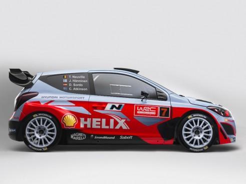 2014 Hyundai i20 WRC - Side - carwitter