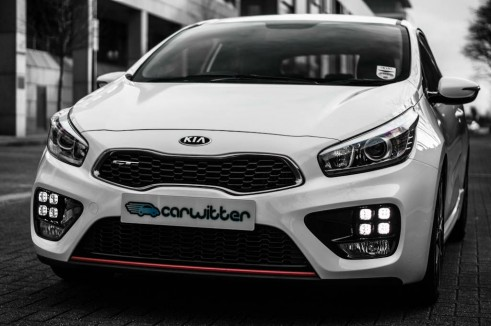 2014 Kia Pro Ceed GT Review Front Low carwitter 491x326 - Kia Pro Ceed GT Review – The newbie - Kia Pro Ceed GT Review – The newbie