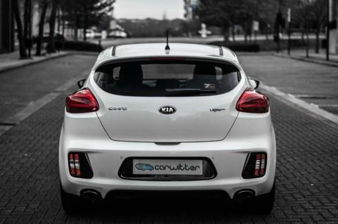2014 Kia Pro Ceed GT Review Rear carwitter 491x326 - Kia Pro Ceed GT Review – The newbie - Kia Pro Ceed GT Review – The newbie