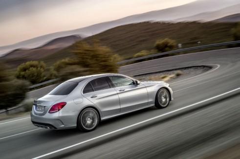 2014 Mercedes C Class rear carwitter 491x326 - 2014 Mercedes C-Class saloon price & specs - 2014 Mercedes C-Class saloon price & specs