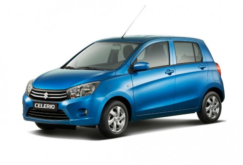 2014 Suzuki Celerio Front Angle - carwitter