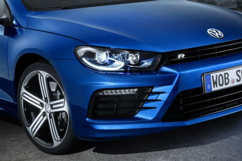 2014 VW Scirocco front 2  - carwitter