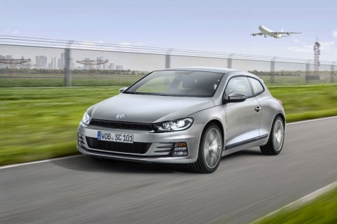 2014 VW Scirocco front 4  - carwitter