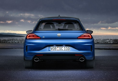 2014 VW Scirocco rear 3  - carwitter