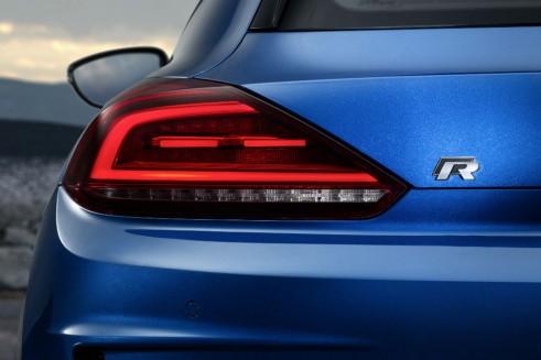 2014 VW Scirocco rear  light  - carwitter