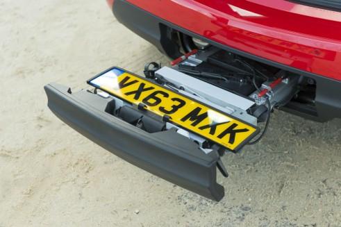 2014 Vauxhall Meriva - Flex Fix Bike Carrier - carwitter
