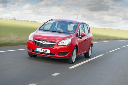 2014 Vauxhall Meriva - Front - carwitter
