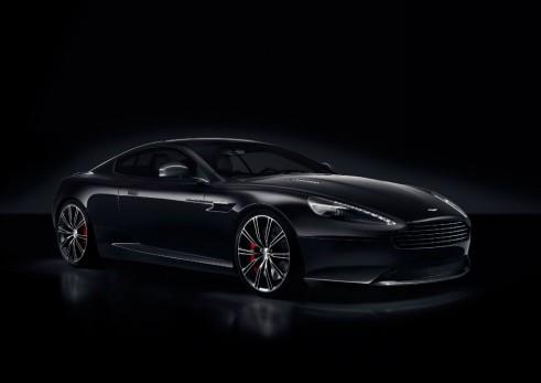 Aston Martin DB9 Carbon Black - carwitter