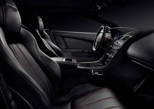 Aston Martin DB9 Carbon Black interior - carwitter