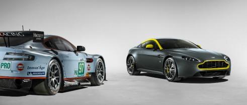 Aston Martin Vantage V8 N430 + GTE - carwitter