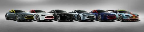 Aston Martin Vantage V8 N430 colours - carwitter
