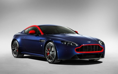 Aston Martin Vantage V8 N430 front 2 - carwitter