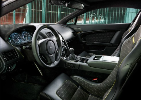 Aston Martin Vantage V8 N430 interior - carwitter