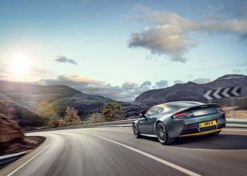 Aston Martin Vantage V8 N430 rear - carwitter