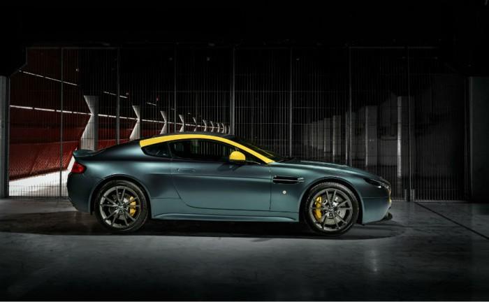 Aston Martin Vantage V8 N430 side carwitter 700x432 - DB9 and Vantage N430 special editions to debut at Geneva - DB9 and Vantage N430 special editions to debut at Geneva