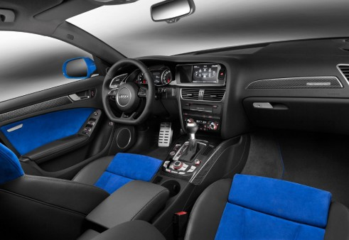 Audi RS4 Nogaro selection interior - carwitter