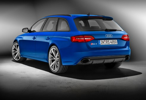 Audi RS4 Nogaro selection rear - carwitter