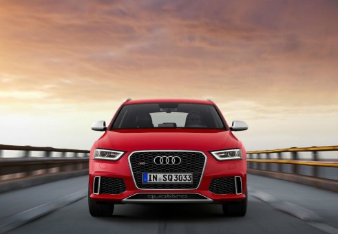 Audi RSQ3 Red Front - carwitter