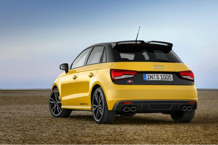 Audi S1 rear carwitter 700x468 - Audi S1 Quattro hot-hatch is here - Audi S1 Quattro hot-hatch is here