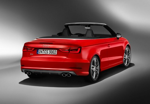 Audi S3 cabrio rear - carwitter