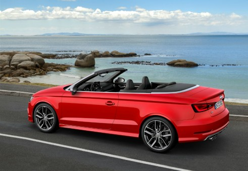 Audi S3 cabrio side 2 carwitter 491x339 - 2014 Audi S3 cabriolet unveiled - 2014 Audi S3 cabriolet unveiled