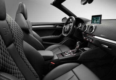 Audi S3 interior - carwitter
