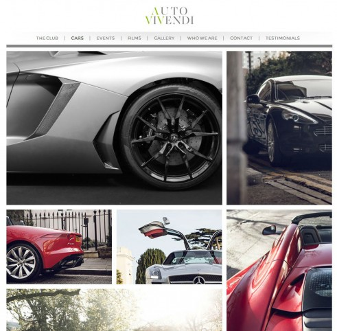 Auto Vivendi Cars Website - carwitter