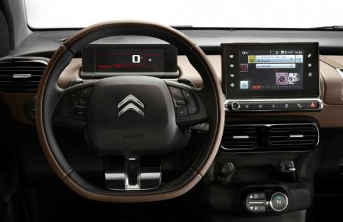 Citroen Cactus - Dashboard Steering Wheel - carwitter