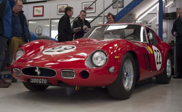 Ferrari 250 GTO Carwitter w1024 700x432 - A visit to Nick Mason's car collection - A visit to Nick Mason's car collection