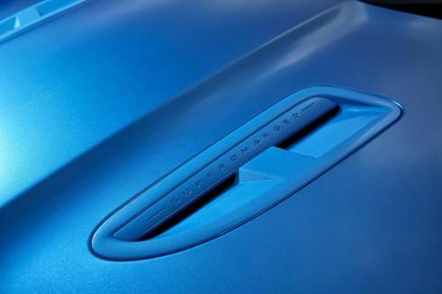 Jaguar XFR-S Sportbrake - Bonnet Louvre - carwitter