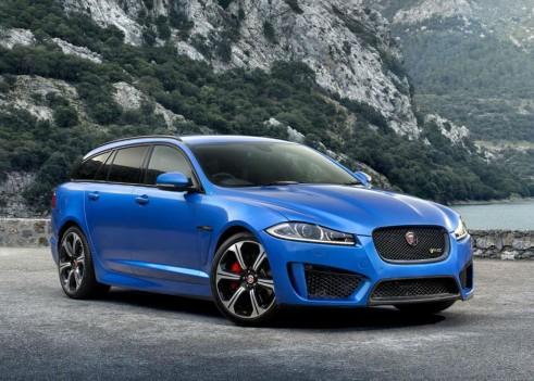 Jaguar XFR-S Sportbrake - Front Angle - carwitter