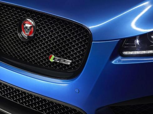 Jaguar XFR-S Sportbrake - Front Grille Badge - carwitter