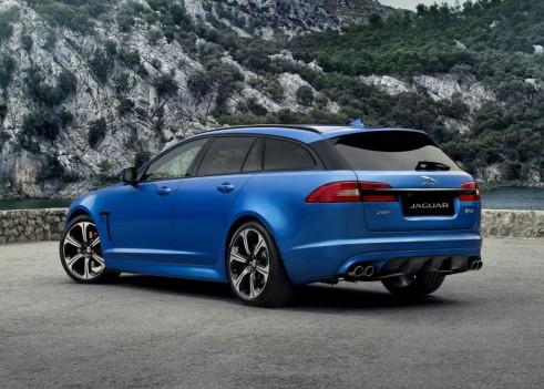 Jaguar XFR-S Sportbrake - Rear Angle - carwitter