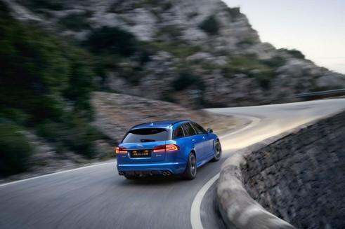 Jaguar XFR-S Sportbrake - Rear - carwitter