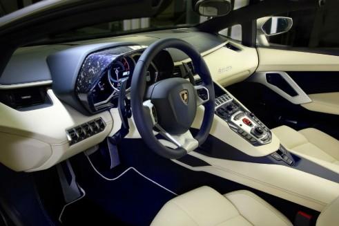 Lamborghini Ad Personam - Forged Composite Dash Binnacle - carwitter