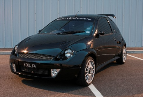 MK1 Modified Ford Ka Front - carwitter