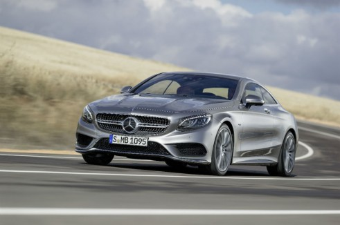 Mercedes S-Class Coupe - carwitter
