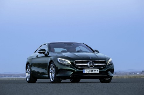 Mercedes S-Class Coupe front 2 - carwitter