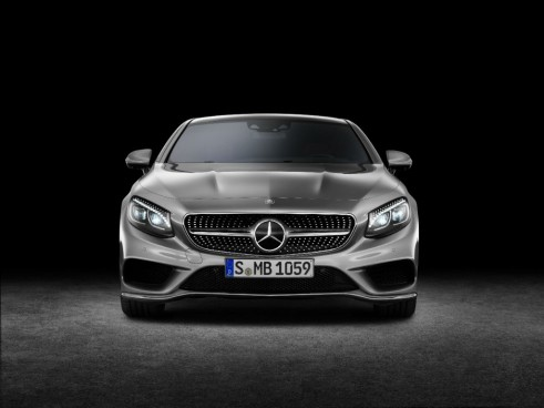 Mercedes S-Class Coupe front - carwitter