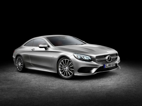 Mercedes S-Class Coupe left - carwitter