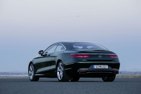 Mercedes S-Class Coupe rear - carwitter