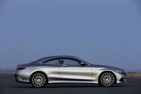 Mercedes S-Class Coupe side 2 - carwitter