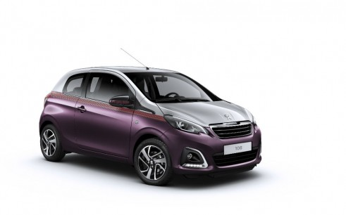Peugeot 108 - Front Angle - carwitter