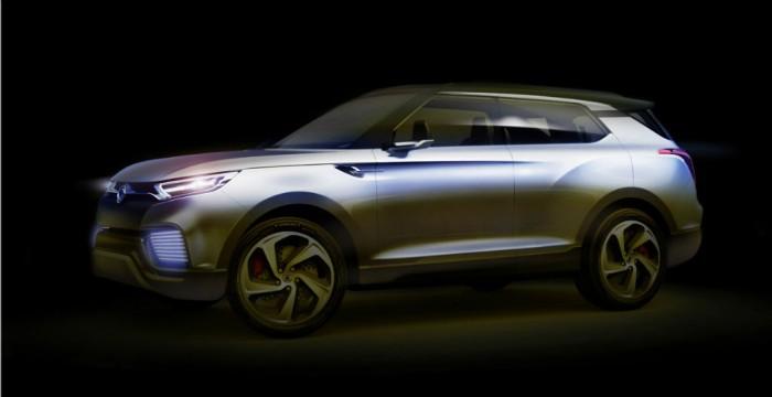 SsangYong XLV Concept carwitter 700x360 - SsangYong XLV Concept - SsangYong XLV Concept