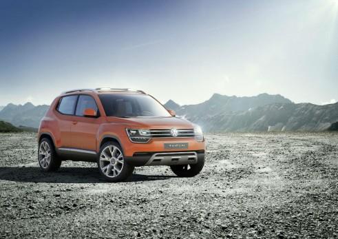VW Taigun Concept Front - carwitter