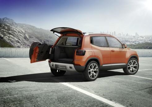 VW Taigun Concept Rear Open - carwitter